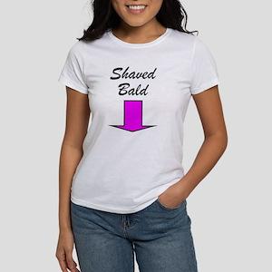 Shaved Bald Women's T-Shirt
