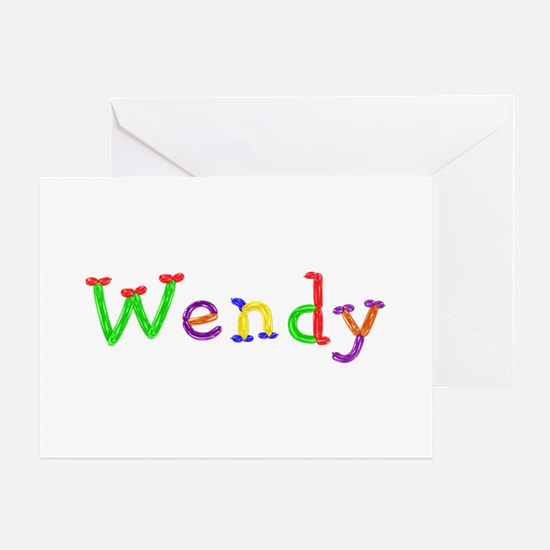 Wendy Balloons Greeting Card