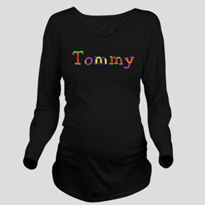 Tommy Balloons Long Sleeve Maternity T-Shirt