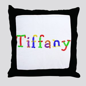 Tiffany Balloons Throw Pillow
