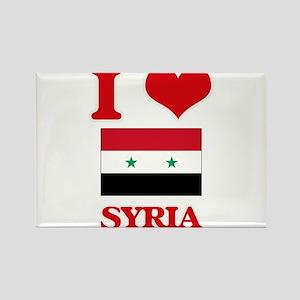I Love Syria Magnets