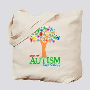 Support Autism Tote Bag