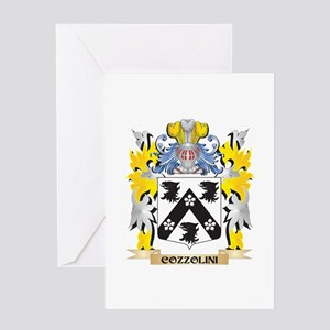 Cozzolini Coat of Arms - Family Cre Greeting Cards
