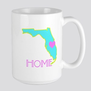 Florida State Shape Mugs