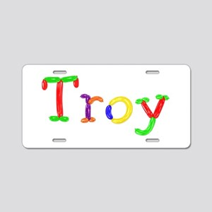 Troy Balloons Aluminum License Plate