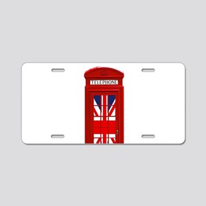 LONDON Professional Photo Aluminum License Plate