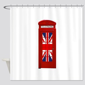 LONDON Professional Photo Shower Curtain