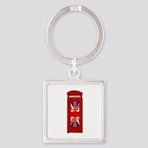 LONDON Professional Photo Square Keychain