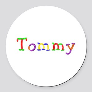 Tommy Balloons Round Car Magnet