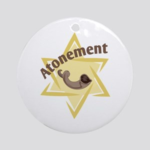 Atonement Star Ornament (Round)