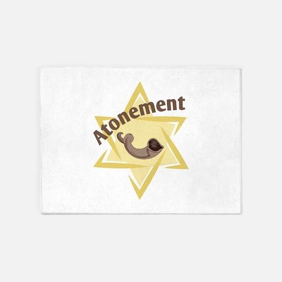 Atonement Star 5'x7'Area Rug