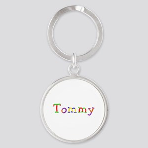 Tommy Balloons Round Keychain