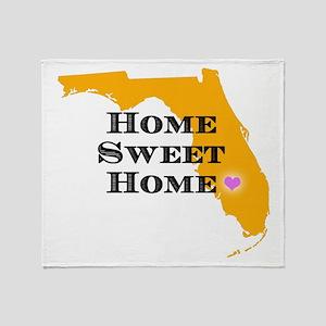Florida State Shape Throw Blanket