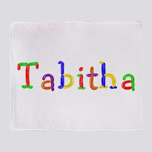Tabitha Balloons Throw Blanket