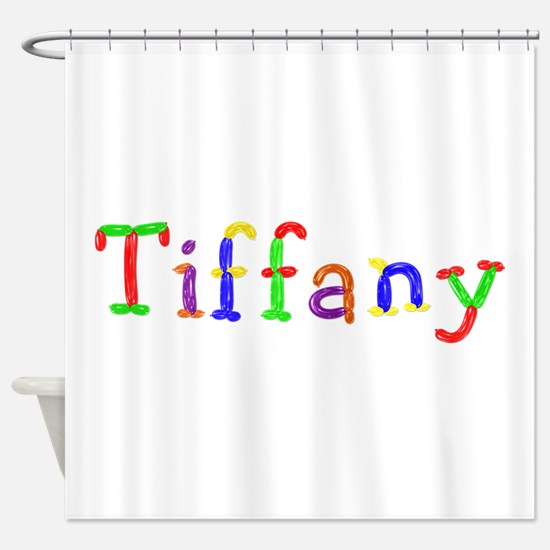 Tiffany Balloons Shower Curtain