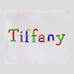 Tiffany Balloons Throw Blanket