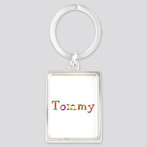 Tommy Balloons Portrait Keychain