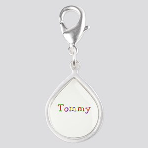 Tommy Balloons Silver Teardrop Charm