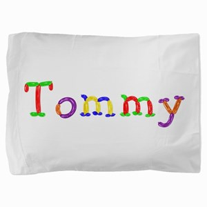 Tommy Balloons Pillow Sham