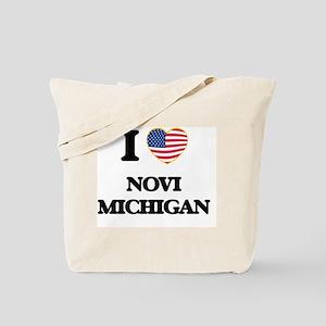 I love Novi Michigan Tote Bag