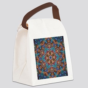 The Duality of ID Kaleido Canvas Lunch Bag