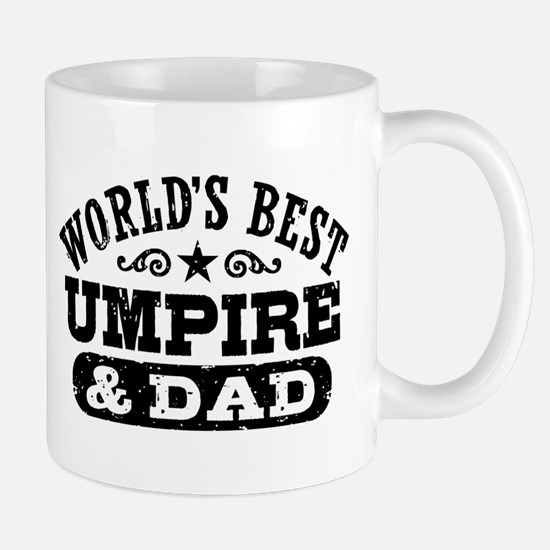 World's Best Umpire and Dad, Mug