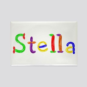 Stella Balloons Rectangle Magnet