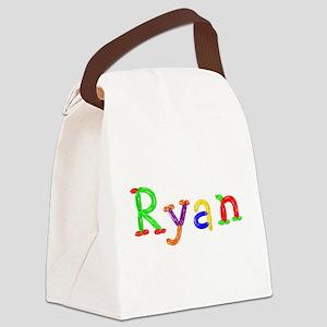 Ryan Balloons Canvas Lunch Bag