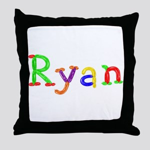 Ryan Balloons Throw Pillow