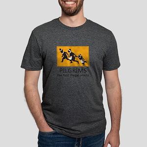 Pilgrims - The first illegal aliens T-Shirt