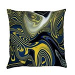 Blue Confusion Decor Everyday Pillow