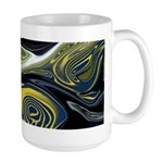 Blue Confusion Decor Large Mug