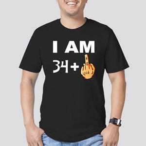 Middle Finger 35th Birthday T-Shirt