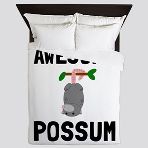 Awesome Possum Queen Duvet