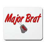 USAF Major Brat Mousepad
