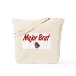 USAF Major Brat  Tote Bag