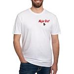 USAF Major Brat Fitted T-Shirt