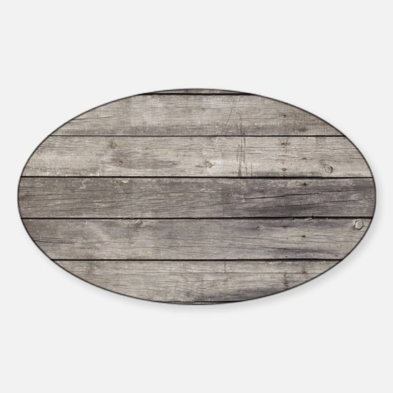 Old Wood Planks Decal