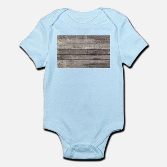 Old Wood Planks Body Suit