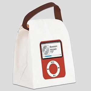Ipad Bassoon Canvas Lunch Bag