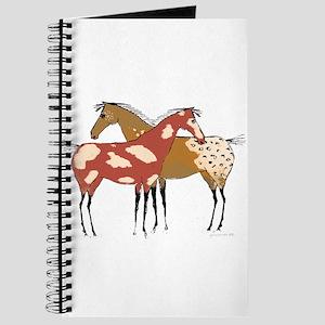 Two Horse Appaloosa & Paint Design Journal