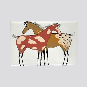 Two Horse Appaloosa & Paint Design Magnets
