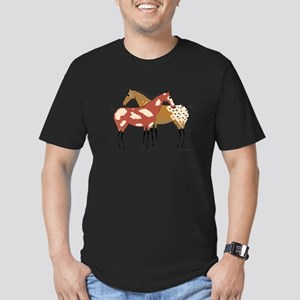Two Horse Appaloosa & Paint Design T-Shirt