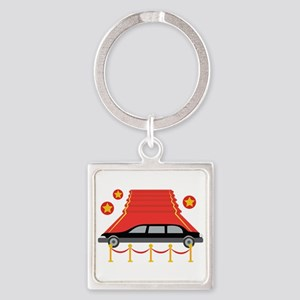 Red Carpet Limo Keychains