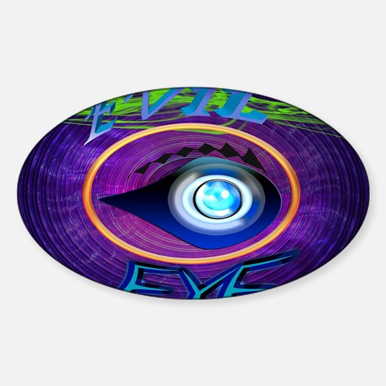 The Evil Eye Sticker (Oval)