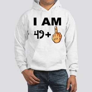 Middle Finger 50th Birthday Hoodie