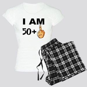 Middle Finger 51st Birthday Pajamas