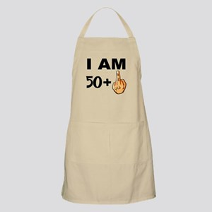 Middle Finger 51st Birthday Apron