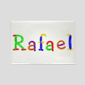 Rafael Balloons Rectangle Magnet