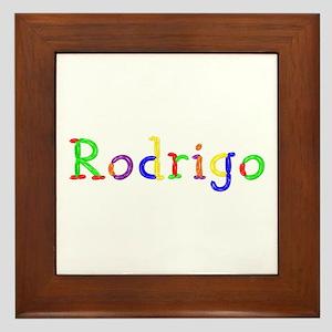 Rodrigo Balloons Framed Tile